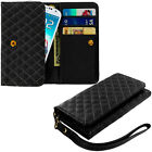 Plain Cell Phone Wallet Cases for Samsung Galaxy S III