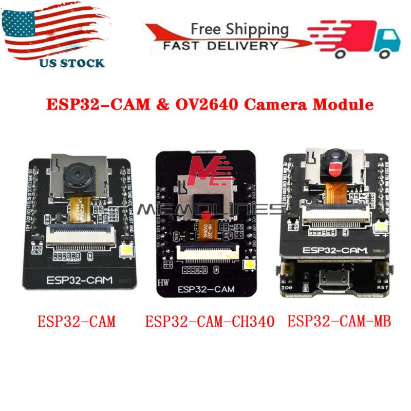 5v Esp32-cam Hk-esp32-cam-mb Wifi Bluetooth Development Usb To Ch340g Ch340