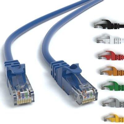 CAT 6 Patchkabel RJ45 Rohkabel LAN Kabel Ethernet Netzwerkkabel 0,25m - 50m ()