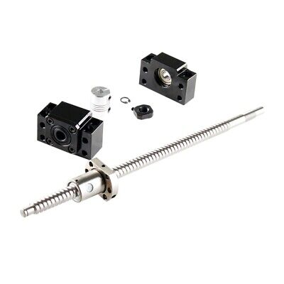 Ballscrew Sfu2005-2002500mm With Bk15bf15 6.35x12mm Coupler Cnc Machine Set