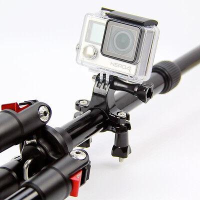 NUOVO Supporto manubrio bici bicicletta motocicletta per GoPro Hero 2 3 3+ 4 5