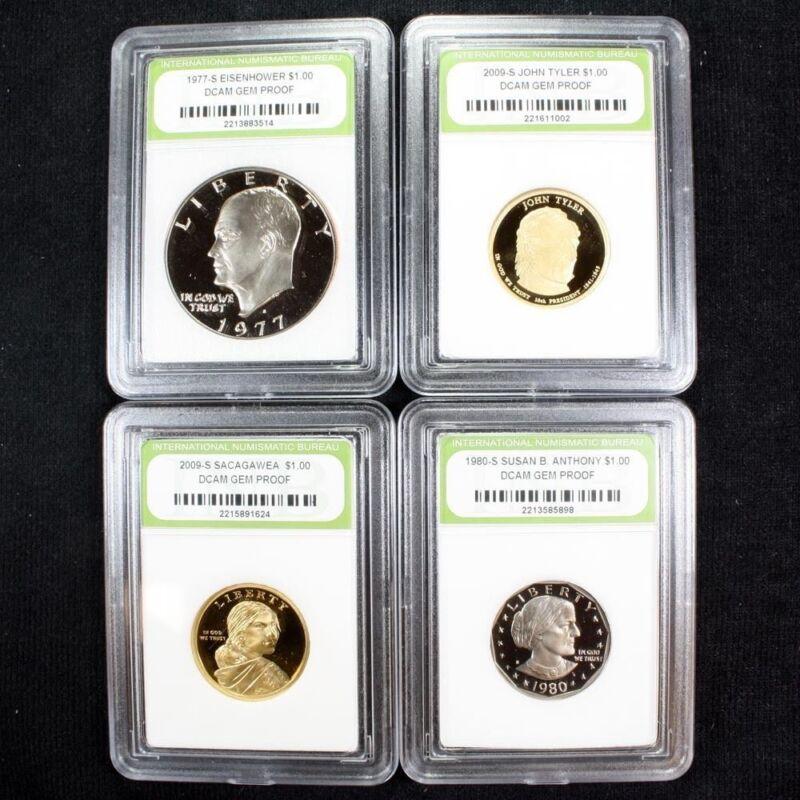Proof Set of Eisenhower / SBA / Sacagawea / Presidential Dollars High Grade