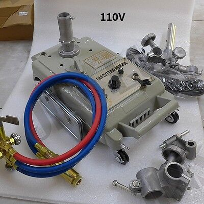 110v Torch Track Burner Cg1 Gas Cutting Machine Cutter With Acetylene Nozzle