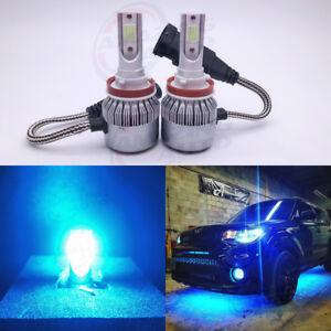 NEW H8 H9 H11 H16 8000K Ice Blue 8000LM CREE LED Headlight Bulbs Kit High Low
