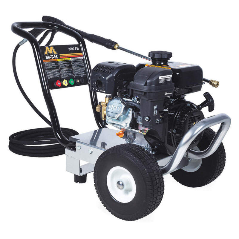 Pressure Washer,3000 psi,Gas GC-3000-0MMB