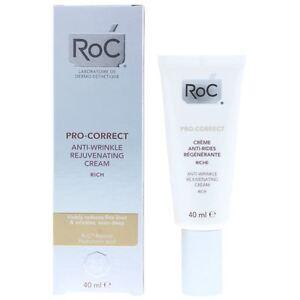 Roc Pro-Correct Anti-Wrinkle Rejuvenating Cream Rich 40ml All Skin Types