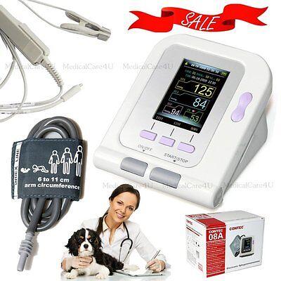 New Veterinary Blood Pressure Monitor Animal Use Nibp Spo2 Monitor Pulse Ratece