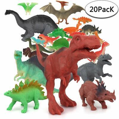 Dinosaurier Spielzeug,20 Stück Dinosaurier Figuren Set, Mini Dinos Figuren Party