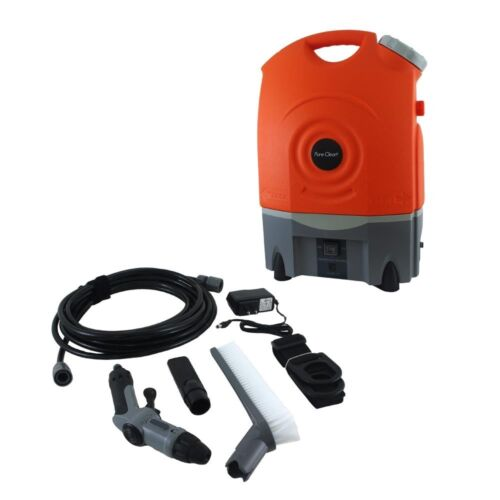 PYLE BATTERY POWERED PORTABLE PRESSURE SPRAY WASHER CLEANER