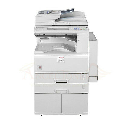 Ricoh Aficio Mp 3500 Mono Printer Copier Scan Network Mfp 35 Ppm Laser Tabloid