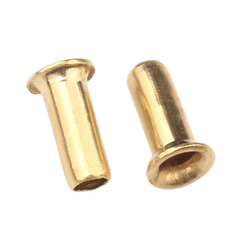 M3 M4 M5 Copper Brass Eyelet Hollow Tubular Rivets Through Nuts Hole Grommets