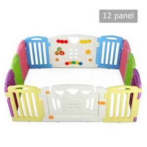AUS FREE DEL-12 Panel Interactive Baby Safety Playpen Multi-color Sydney City Inner Sydney Preview