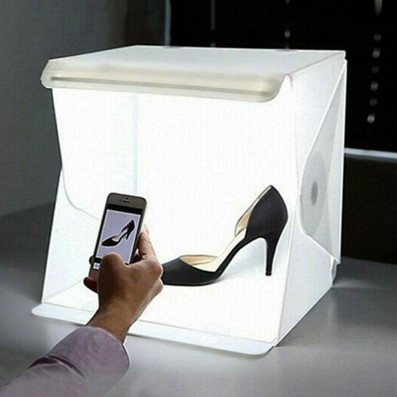 Light Room Photo Studio Photography Lighting Tent Kit Backdrop Cube Mini Box BL