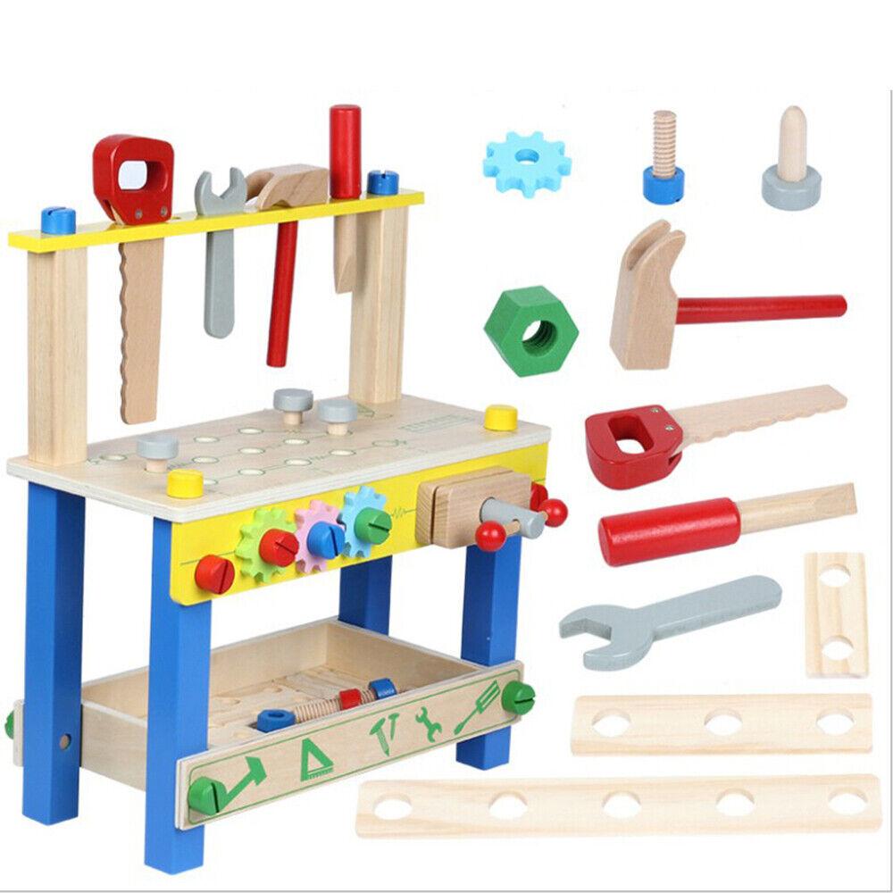 Kinder Werkzeug Laubsage Werkzeugkasten Holz