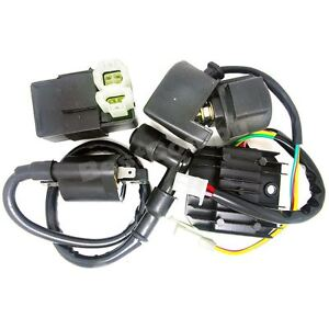 cc cdi parts accessories ignition coil cdi regulator rectifier relay kit 150 200cc 250cc chinese atv quad