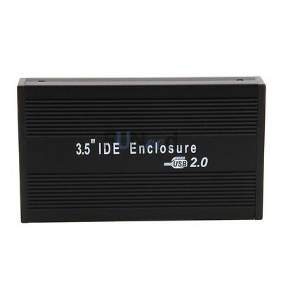 "Lot 5 X External Usb 2.0 Ide 3.5"" Hdd Hard Disk Drive Enc..."