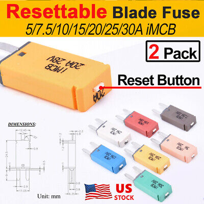 30a Car Fuse ATM Motorbike Boat 30x Mixed Mini Blade Fuses Assorted 10 x 5a