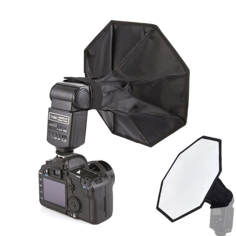 "Portable Universal 30cm/12"" Photo Studio Octagon Flash Diffuser Softbox Yongnuo"