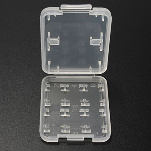 8 Slots Storage Case Box Holder for for Micro SD TF SDHC MSPD Memory Card