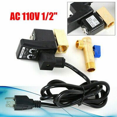 12 Electronic Timed Way Water Moisture Valve Gas Tank Auto Drain Compressor