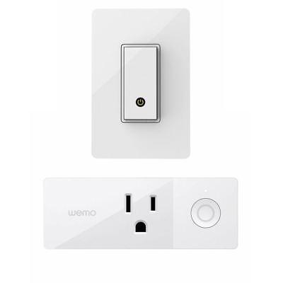 Wemo Mini Smart Plug & Light Switch Bundle