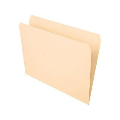 Staples Manila File Folders Letter Single Tab 100box 116723