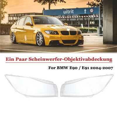 2x Scheinwerferglas Streuscheibe für BMW E90//E91 2004-2007 4769886123
