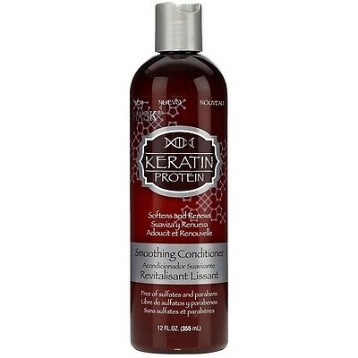 Hask Keratin Protein Smoothing Conditioner 12 oz