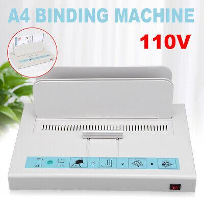 Brand New Thermal Binding Machine Contract Document 1-50mm Hot Melt Machine 110v