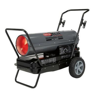 Dyna-Glo Kerosene Forced Air Heater 135000 BTU Air Pressure Gauge Wheels Btu Forced Air Kerosene Heater