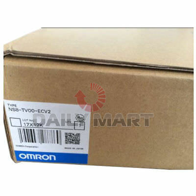 Brand New In Box Omron Touch Screen Hmi Ns8-tv00-ecv2 Human Machine Interface