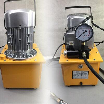 Hydraulic Electric Pump Oil Pressure Pedal W Oil Pressure Pump Solenoid Valve