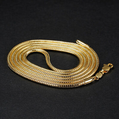 nkette Halskette 999er Gold Vergoldet,60cmx3mm (Herren Gold Kette Halskette)