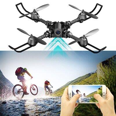 NEW FPV 3D VR HD Camera Custom Route Foldable Drone Quadcopter Altitude Headless