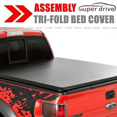 Assembly Lock Tri-Fold Tonneau Cover For 2007-2013 Chevy Silverado 6.5ft Bed