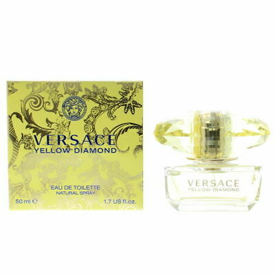 VERSACE YELLOW DIAMOND EDT 50ML NATURAL SPRAY FOR HER NEW AND SEALED UK SELLER