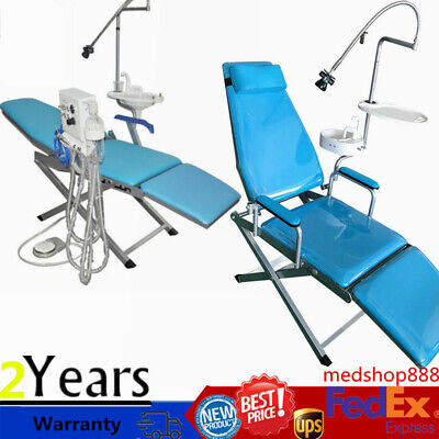 Multifunctional Dental Examination Chair Mobile Folding With Led Treatment Light
