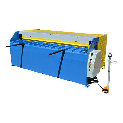 96 X 16 Gauge Air Pneumatic Hydraulic Shear 8ft 3 Phase 1.6mm Thickness Angle