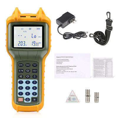 Ry S110 Catv Cable Tv Handle Digital Signal Level Meter Db Tester 47-870mhz