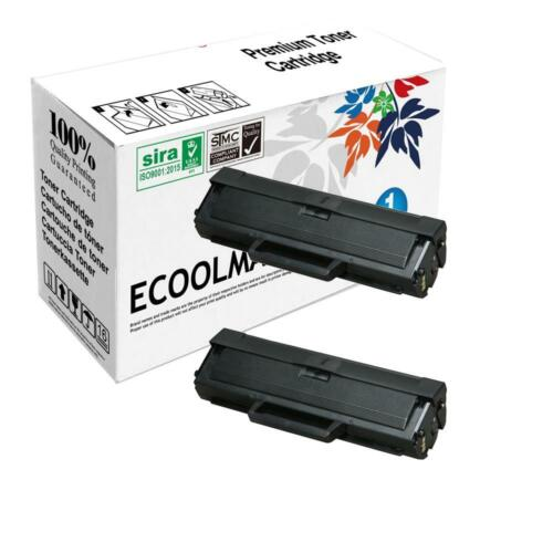 6-Pack Compatible High Capacity ML-1660N ML-1665 ML-1670 ML-1865W Printer Toner Cartridge Replacement for Samsung MLT-D104S Printer Cartridge Black