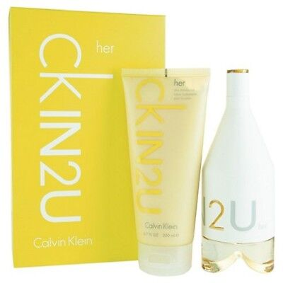 Calvin Klein CKIN2U Female 150ml Eau de Toilette Gift Set Gift Set NEW IN BOX