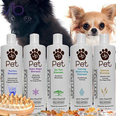 JOHN PAUL MITCHELL JP PET Shampoo For Dogs Cats, Puppies Cleanser, pH Balanced John Paul Pet Cat Shampoo