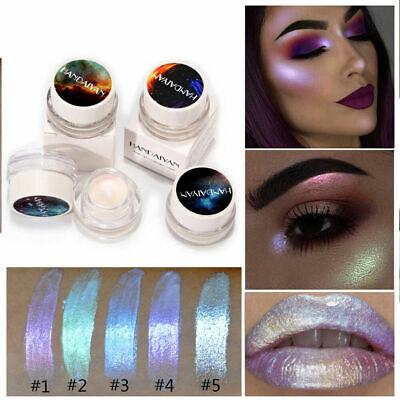 Glitter Highlight Cream Makeup Face Eye Shiny Eyeshadow Waterproof Shimmer 5ml.