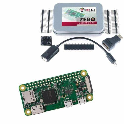 Raspberry Pi Zero Wireless & Zero Essentials Kit !