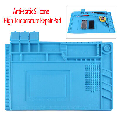 Anti-static Solder Rework Mat Silicone Heat Insulation Computer Phone Repair Pad