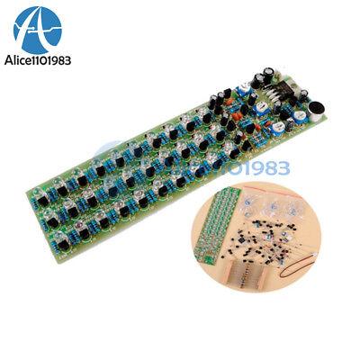 Voice Control Level Indicator Indicating Redbluegreen Led Production Diy Kit