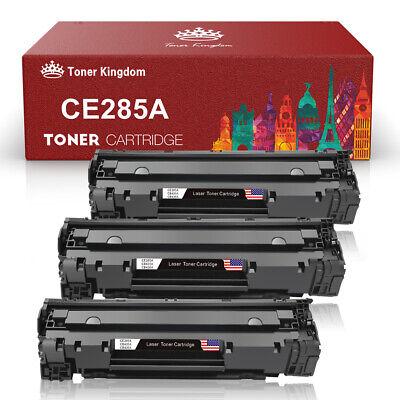 3 Pack 35A CB435A Toner Cartridges Compatible for HP Laserjet P1002 P1003 (Hp 35a Laserjet)