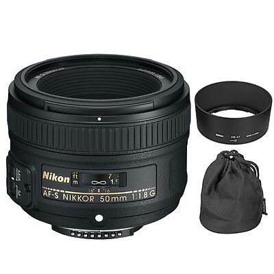 Nikon AF-S Nikkor 50mm f/1.8G 018208021994 Lens for Digital SLR Camera Body