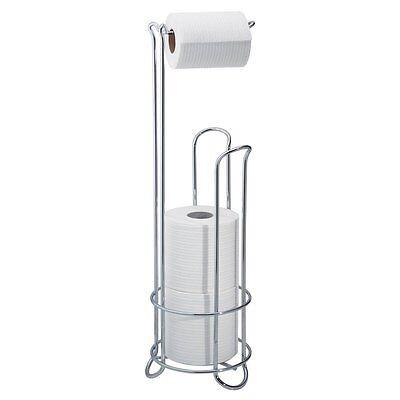 InterDesign Toilet Paper Towel Stand Holder Tissue Roll Rack Display Storage NEW