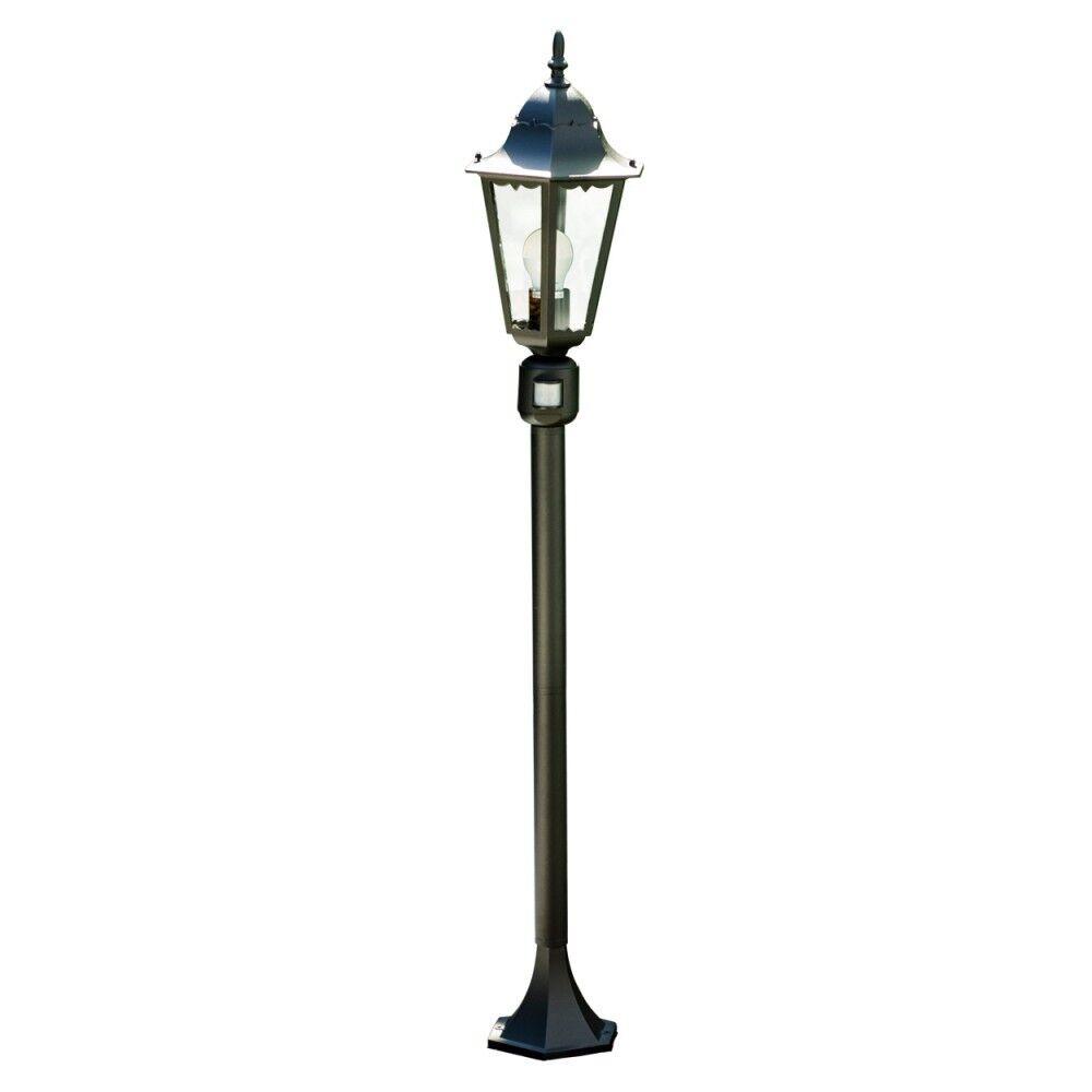 klassische wege lampe bewegungsmelder garten aussen steh leuchte stehlampe glas eur 69 99. Black Bedroom Furniture Sets. Home Design Ideas